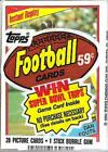1984 Topps Football Cello Pack Dan Fouts