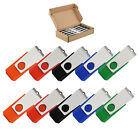 10Pack 32GB USB Flash Drive Rotating Pendrive Thumb Momery Sticks Storage USB20