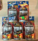 HOT WHEELS LOT OF 5  WORLD RACE HIGHWAY 35 EXCLUSIVE DESIGNS NEW OLD STOCK