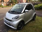 Smart FORTWO BRABUS 10 2dr Silver Semi Auto 121BHP Lots of EXTRAS
