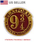 Platform 9 3 4 Embroidered Iron On Sew Patch hogwarts Embroidery badge Applique