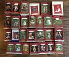 LOT of 27 HALLMARK CHRISTMAS ORNAMENTS FROSTY FRIENDS NATURES SKETCHBOOK MAXINE