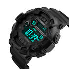 SKMEI Military Men Waterproof Countdown Timer Stopwatch Army Sport Digital Watch