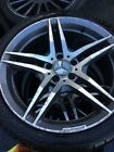 MERCEDES AMG WHEELS WITH TYRE SET 235 40R18