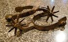 Cast Iron SPURS Rodeo Cowboy Western Rustic Home Decor Texas Spur Boots One Pair