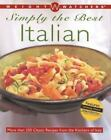 Weight Watchers Simply the Best Italian More than 250 Classic Recipes ExLibrary