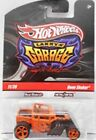 HOT WHEELS LARRYS GARAGE 1 64 SCALE BONE SHAKER ORANGE SIGNED WITH REAL RIDERS