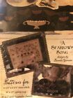 Primitive Punch Needle, Cross Stitch And Penny Rug Pattern- Brenda Gervais