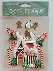 21 6 Jolees Boutique Gingerbread House Scrapbook Stickers Christmas