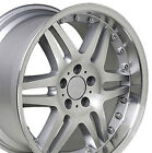 18x95 18x85 Rims Fit Mercedes Benz C E S Class CLS Silver Machd Wheels SET