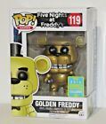 FUNKO POP! GAMES FIVE NIGHTS AT FREDDY'S GOLDEN FREDDY 2016 SDCC EXCLUSIVE #1