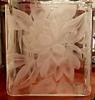ELEGANT GLASS FRANZ GROSZ LARGE VASE SIGNED ETCHED VERY VERY RARE