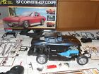 1/12 Monogram 1967 Corvette 427 Coupe, Model kit AS IS  Check out the pics !!