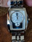 Serviced BREITLING Bentley Flying B Steel Automatic Mens Watch A28362