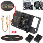 mobile phone Navigation bracket USB phone charging for BMW R1200GS LC ADV 13-ON