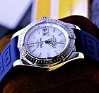 BREITLING COCKPIT A49350 41MM - MOP DIAL - BOX & PAPERS - SERVICED - ONE OWNER #