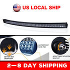 4 5 14 20 3050 Led Light Bar Work Pod Spot Lamp Offroad Driving 54 Curved