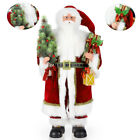 Christmas Standing Figurine Santa Claus Figurine Toy Doll Table Decor Ornements