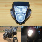 Streetfighter Nake Black Street Fighter Headlight Fairing Light Dirt Bike Custom