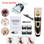 Cat Dog Hair Trimmer Electrical Clipper Cutter Grooming Equipment Rechargeable