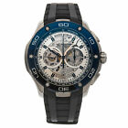 Roger Dubuis Pulsion Chrono Auto 44mm Titanium Mens Strap Watch DBPU0004