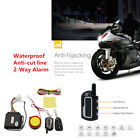 Universal Motorcycle 2-Way Security Alarm System Anti-theft Remote Control Parts