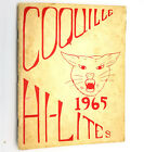 Coquille Junior High School Yearbook Annual 1965 Hi Lites Coos County Oregon OR