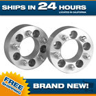 2 Jeep 5x127 Wheel Spacers Adapters 5x5 Wrangler Grand Cherokee WJ WK XK JK 2