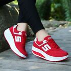 Womens Sneakers Platform Running Athletic Breathable Sport Casual Fashion Shoes