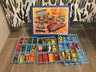 Vintage Matchbox Case Full W 29 Cars 90 Lesney England
