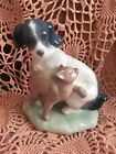 LLADRO NAO 1048  Cat And Dog in Harmony Retired! Mint! Original Box! L@@K!
