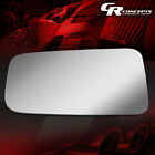 OE STYLE LH/LEFT SIDE DOOR REAR VIEW MIRROR GLASS LENS FOR 87-93 JEEP WRANGLER