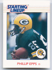 1988 Starting Lineup Phillip Epps Card Green Bay Packers NM/MT