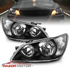 2001 2005 Factory Black Headlight Assembly Pair for Lexus IS300 Left+Right