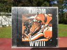 KMFDM WWIII CD BRAND NEW FACTORY SEALED ITEM USA SELLER FREE SHIPPING