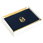 Hallmark Signature Christmas Boxed Cards Gold Nativity 10 Christmas Cards with