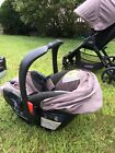 Britax B Safe B Agile Stroller And Car Seat Pre Owned Pick Up Only In Mass.