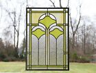 sold out 1525 x 2275 Handcrafted Ginkgo style stained glass window panel