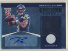 RUSSELL WILSON 2012 TOTALLY CERTIFIED FUTURE ROOKIE AUTO JERSEY 175 175