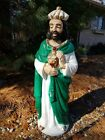 49 BECO Nativity Set WISE MAN MEN lighted plastic blow mold outdoor yard xmas