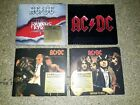 AC DC 4X CD LOT ACDC HIGHWAY TO HELL , REMASTER CD ROCK METAL