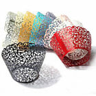 Cupcake Wrappers Filigree Vine Lace Cup Wrap Liners Wedding Party Xmas Decor 50X