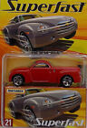 MATCHBOX SUPERFAST 2005 1 of 8000 SSR 21 CHEVY CHEVROLET SSR RED RARE