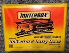 1994 MATCHBOX SUPERFAST 48 CAR COLLECTORS CARRY CASE  PLAY CITY 4 YEL TRAYS
