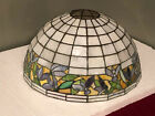 Leaded Glass Shade by Unique Art Glass Co. c.1920
