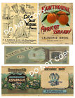 Primitive Style Pantry Labels for Cans or Box - #FH275