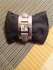 GUESS WOMENS WATCH SILVER LEATHER BAND