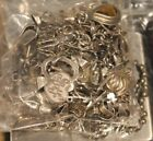 Vintage Sterling Silver Jewelry Scrap Lot  280 Grams FREE SHIPPING