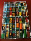 41 Vintage Matchbox Lesney Superfast in 72 car case 1968 Excellent Booklet