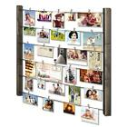 RooLee Wood Picture Frame Collage for Multi Photo Display Wall Decor 30 x 26 w